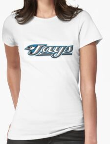 Toronto Blue Jays LOGO Womens Fitted T-Shirt