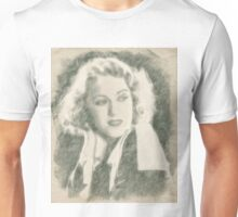 Fay Wray Hollywood Vintage Actress Unisex T-Shirt