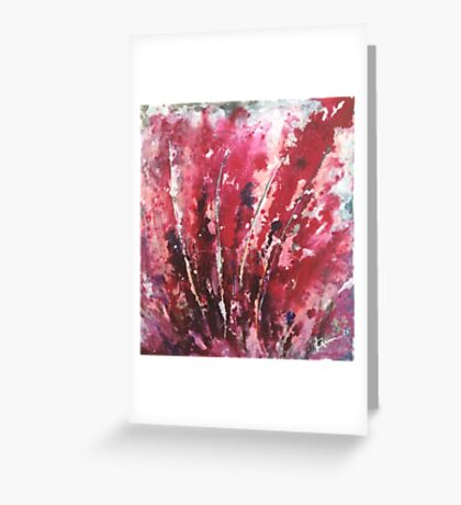 Passion I By Kenn. Greeting Card