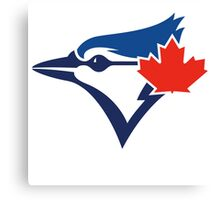 Toronto Blue Jays TEAM LOGO Canvas Print
