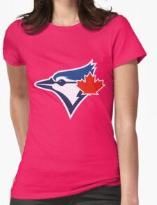 Toronto Blue Jays TEAM LOGO Womens Fitted T-Shirt