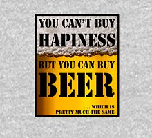 BEER IS HAPINESS (beer version) Unisex T-Shirt