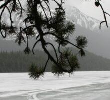 Lake Maligne, BC, Canada Sticker