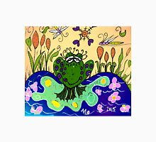 A Frog in a Pond in Mo's Garden Unisex T-Shirt