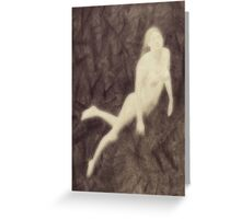 Water Nymph by John Springfield Greeting Card
