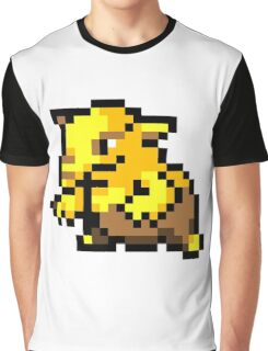 Pokemon 8-Bit Pixel Drowzee 096 Graphic T-Shirt