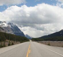 Icefields Parkway, Alberta, Canada Sticker