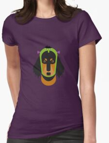 Halloween Dachshund Womens Fitted T-Shirt