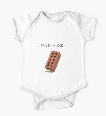 THIS IS A BRICK One Piece - Short Sleeve