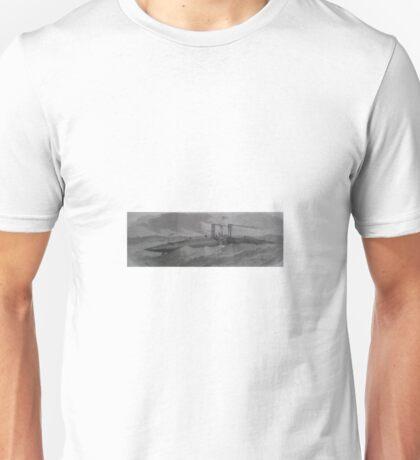 Bizarre Victorian Steampunk like cigar ship Unisex T-Shirt