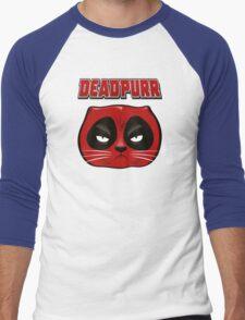 Deadpurr Men's Baseball ¾ T-Shirt