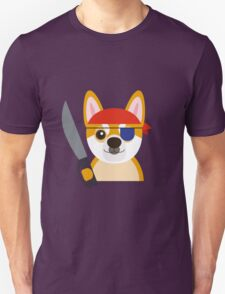 The Captain Shiba Unisex T-Shirt
