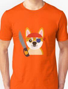 The Captain Shiba Unisex T-Shirt