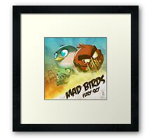 0036 - Mad Birds Framed Print