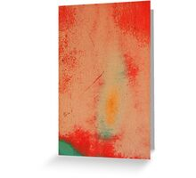 A Whirling Dervish Abstract Greeting Card