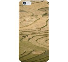 Terraced Rice fields, Tu Le Valley, Vietnam iPhone Case/Skin