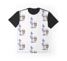 Rigby and Mordecai Graphic T-Shirt