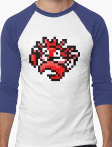 Pokemon 8-Bit Pixel Kingler 099 Men's Baseball ¾ T-Shirt