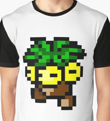 Pokemon 8-Bit Pixel Exeggutor 103 Graphic T-Shirt