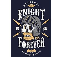 Knight Forever Photographic Print