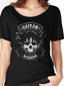 Dragon Ball Z Goku Saiyan Warrior Women's Relaxed Fit T-Shirt