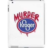murder shirt iPad Case/Skin