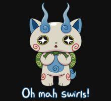 Yo-kai Watch Komasan - Oh mah swirls! Baby Tee
