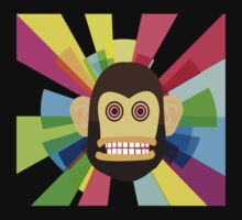 Funky Monkey Face by Fitriani