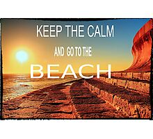 KEEP THE CALM Photographic Print