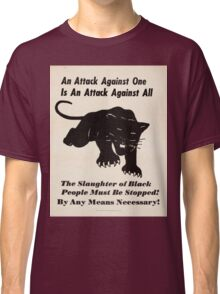 Black panther poster Classic T-Shirt