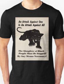 Black panther poster T-Shirt