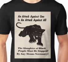 Black panther poster Unisex T-Shirt