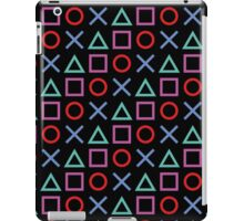 Gamer Pattern Black iPad Case/Skin
