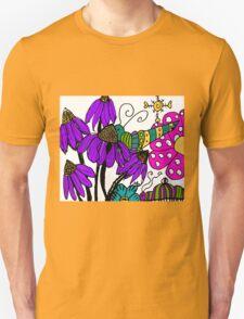 A Spring Fling in Mo's Garden Unisex T-Shirt