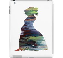 Colorful Silhouette Portrait iPad Case/Skin