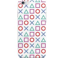 Gamer Pattern White iPhone Case/Skin