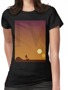 Star Wars Episode 4 Womens Fitted T-Shirt