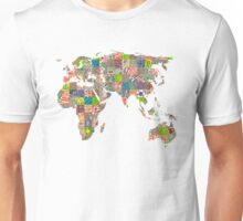 A world of cities II Unisex T-Shirt
