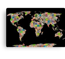 A world of cities II Canvas Print