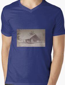 """""""Snarler's""""--an Old West saloon Mens V-Neck T-Shirt"""