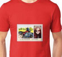 Biker Girl Unisex T-Shirt