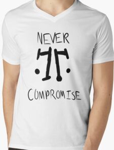Rorschach: Never Compromise Mens V-Neck T-Shirt