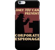 Fallout - Corporate Espionage iPhone Case/Skin