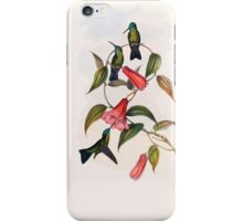 A monograph of the Trochilidæ or family of humming birds by John Gould 1861 V5 200 iPhone Case/Skin