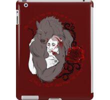Beauty of the beast iPad Case/Skin
