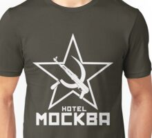 Black Lagoon Hotel Moscow white Unisex T-Shirt