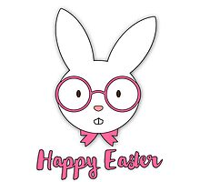 Happy Easter | Girls Photographic Print