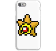 Pokemon 8-Bit Pixel Staryu 120 iPhone Case/Skin