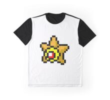 Pokemon 8-Bit Pixel Staryu 120 Graphic T-Shirt