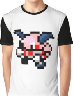 Pokemon 8-Bit Pixel Mr. Mime 122 Graphic T-Shirt